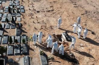 آمار فوت روزانه کرونا در ایران رکورد شکست