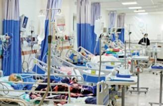 ۵۰۸۱ نفر از مبتلایان به کووید۱۹ در وضعیت وخیم بیماری قرار دارند