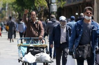 شیوع کرونا درآمد ۵۰.۷ درصد از مردم ایران را کاهش داده است