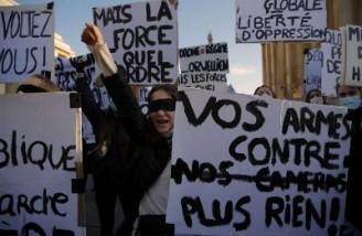 هزاران نفر به لایحه منع انتشار تصاویر پلیس فرانسه اعتراض کردند