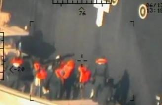 آمریکا تصاویر جدیدی از حمله به نفتکش ها منتشر کرد