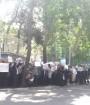 تجمع اعتراضی تعدادی از فعالان حوزهی فرهنگ و معلمان