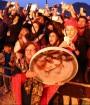 برگزاری جشن سده در روستای چم شهر تفت| یزد